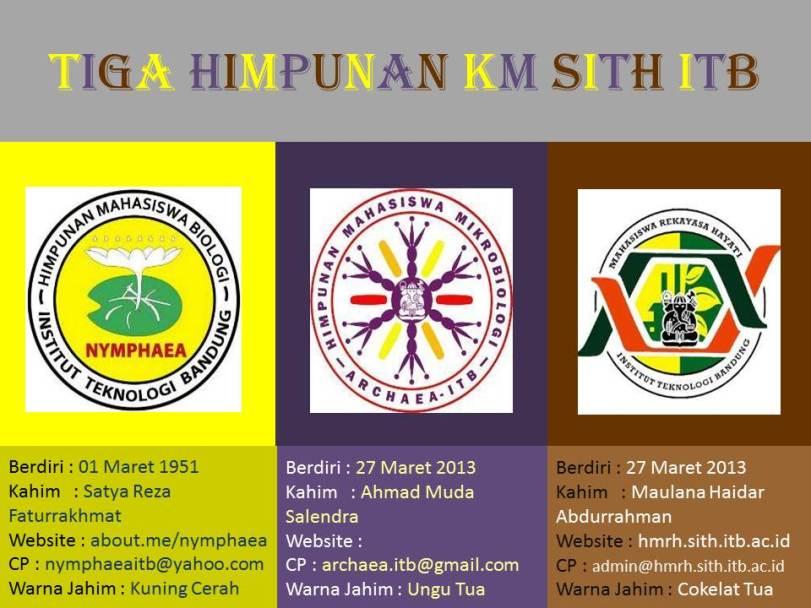 3 Himpunan KM SITH ITB
